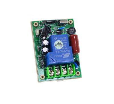 1-канальный приёмник ДУ 315 МГц 220В AK-RK01SD-220