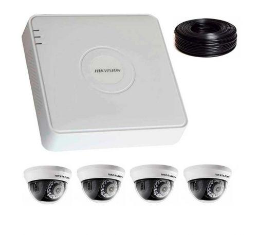 1 Мп Комплект видеонаблюдения DS-7104HQHI-K1/DS-2CE56C0T-IRMMF