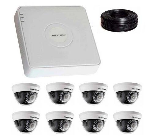1 Мп Комплект видеонаблюдения DS-7108HQHI-K1/DS-2CE56C0T-IRMMF