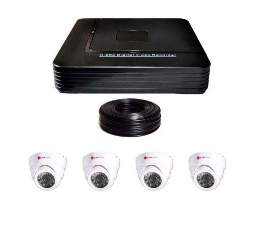 1 Мп Комплект видеонаблюдения DVR-1004AHD/PC-317AHD720P