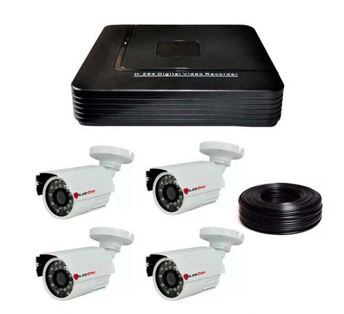 1 Мп Комплект видеонаблюдения DVR-1004AHD/PC-453AHD1MP