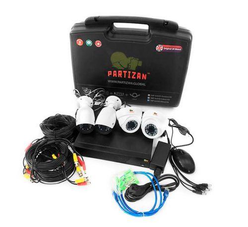 1 Мп Комплект видеонаблюдения Partizan Mixed Kit 1MP 4xAHD