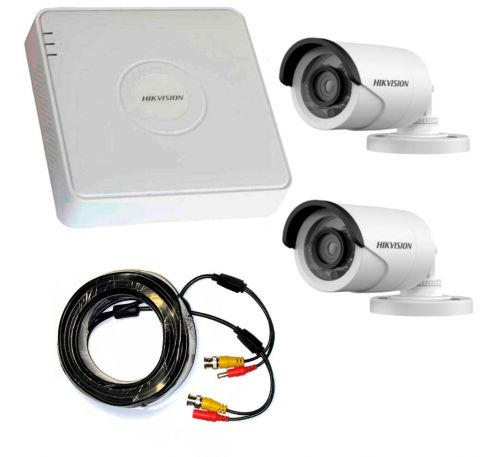 1 Мп Комплект внешнего видеонаблюдения 2 камеры 1Mp
