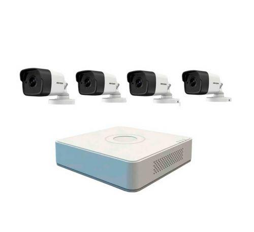 2МП 4-камерный комплект IP видеонаблюдения Hikvision NK4E0-1T