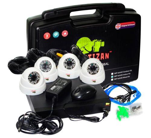 2 Мп Комплект видеонаблюдения Partizan  Indoor Kit 2MP 4xAHD