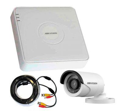 2 Мп Комплект внешнего видеонаблюдения Hikvision 1 уличная камера