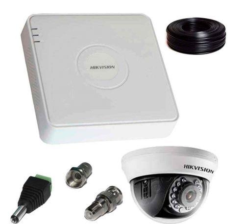 2 Мп Комплект внутреннего видеонаблюдения Hikvision 1 камера 2Mp