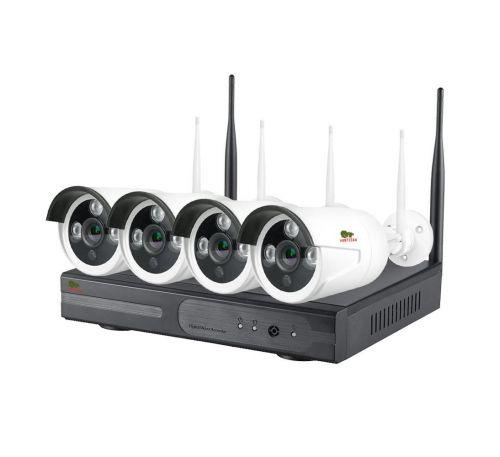 2 Мп комплект видеонаблюдения уличный Wi-Fi Partizan IP-22 4xCAM + 1xNVR