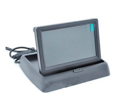 """4,3"""" TFT LCD складной монитор для камеры заднего вида"""