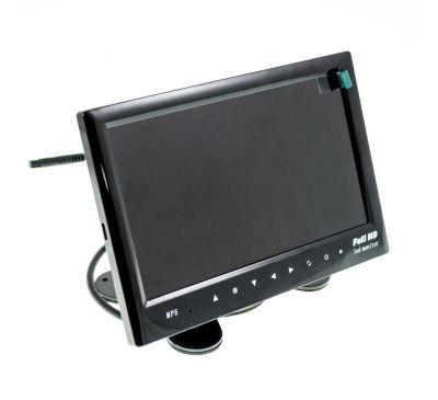 7-дюймовый TFT LCD HD цветной цифровой монитор для VCD/DVD/GPS/камер с USB разъемом