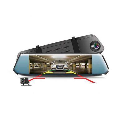 """7"""" Зеркало регистратор + камера заднего вида 1080P Dashcam Rearview Mirror Video Recorder"""