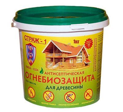 """Антисептическая биоогнезащита """"Страж-1"""", 1кг ХМББ-3324 Страж"""