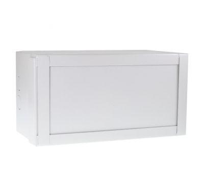 Антивандальный металлический ящик (шкаф) БК-160-3U-пенал. Без гермовводов