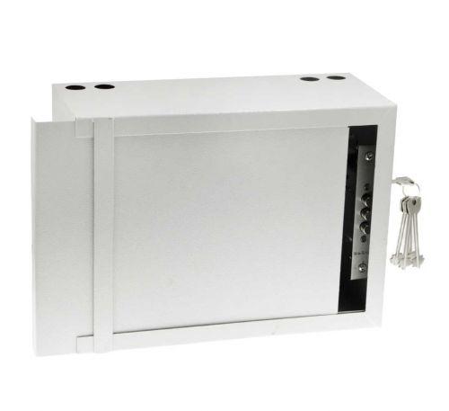 Антивандальный металлический ящик (шкаф) БК-330-з-пенал