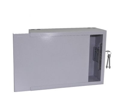 Антивандальный металлический ящик (шкаф) БК-400-з-пенал