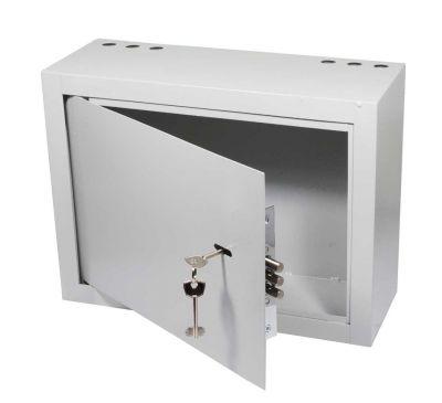 Антивандальный металлический ящик (шкаф) БК-400-з-петли