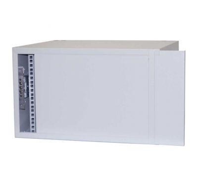 Антивандальный металлический ящик (шкаф) БК-520-7U-з-пенал