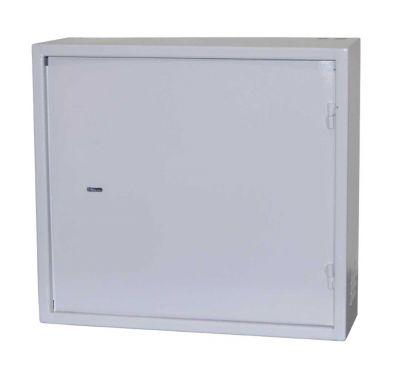 Антивандальный металлический ящик (шкаф) БК-550-2U-Антилом