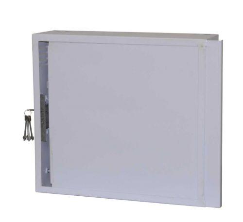 Антивандальный металлический ящик (шкаф) БК-550-2U-з-пенал