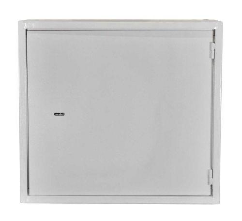 Антивандальный металлический ящик (шкаф) БК-550-2U-з-петли