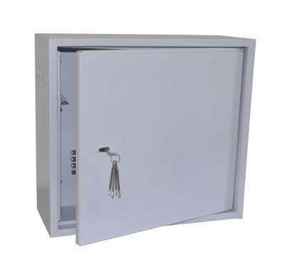 Антивандальный металлический ящик (шкаф) БК-550-3U-Антилом усиленный