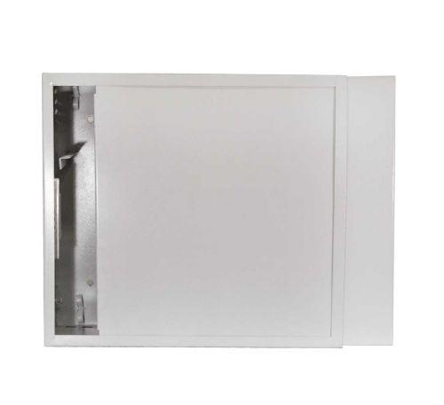 Антивандальный металлический ящик (шкаф) БК-550-3U-з-пенал