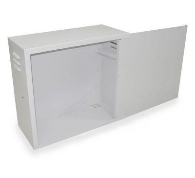 Антивандальный металлический ящик (шкаф) БК-550-4U-з-пенал