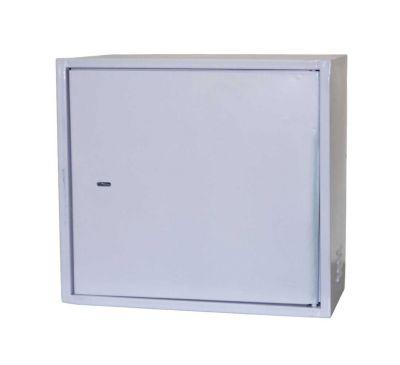 Антивандальный металлический ящик (шкаф) БК-550-з-4U-Антилом усиленный