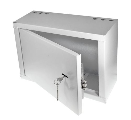 Антивандальный металлический ящик (шкаф) IPCOM БК-400-з-2