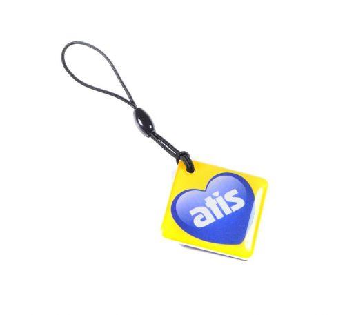 Бесконтактный ключ RFID KEYFOB EM RW Heart