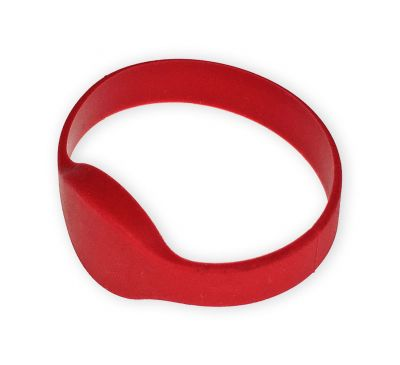 Бесконтактный силиконовый браслет ATIS RFID-B-EM01D65 Красный, EM Marine (125 кГц)