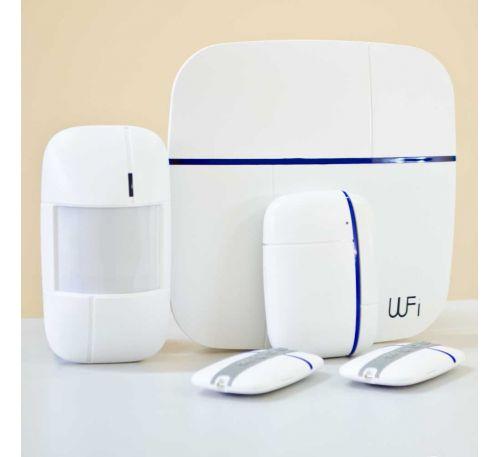 Беспроводной комплект WiFi сигнализации с дозвоном PoliceCam Smart & Safe 868
