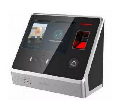 Биометрический терминал доступа распознавания лиц Hikvision DS-K1T605MF-B