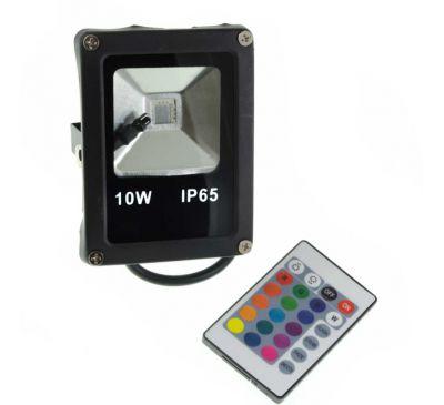 Цветной прожектор LED 10W SMD