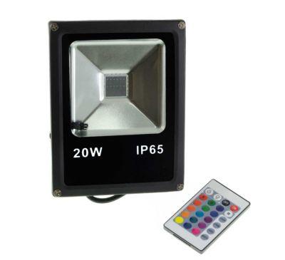 Цветной прожектор LED 20W SMD