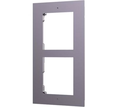 Декоративная рамка Hikvision DS-KD-ACF2 для врезного монтажа модулей DS-KD8003-IME1