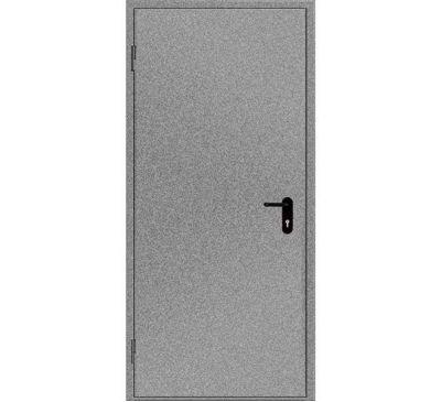 Двери противопожарные металлические глухие ДМП ЕІ60-1-2100х1050 лев., ЕвроСтандарт