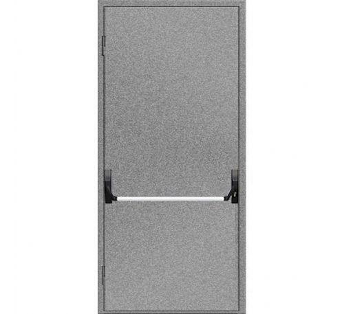 """Двери противопожарные металлические глухие ДМП ЕІ60-1-2100х900 """"антипаника"""", ЕвроСтандарт"""