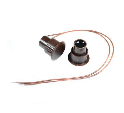 Геркон врезной НО-03L (СМК 3-44) коричневый
