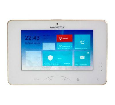 IP Wi-Fi видео интерком -домофон Hikvision DS-KH8301-WT