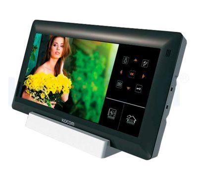 IP видеодомофон Kocom KVR-D510 Чёрный