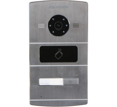 IP вызывная панель / терминал доступа Hikvision DS-KV8102-IM
