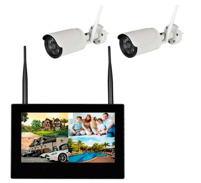 Комплект беспроводного видеонаблюдения KIT-FHD102