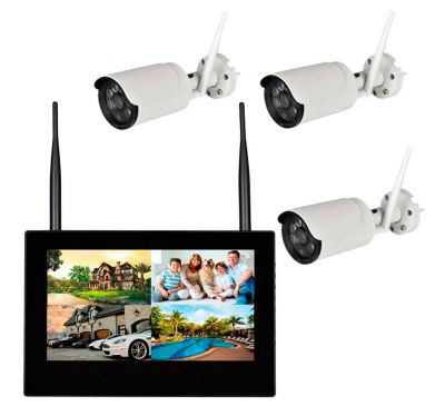 Комплект беспроводного видеонаблюдения KIT-FHD103