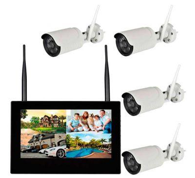 Комплект беспроводного видеонаблюдения KIT-FHD104