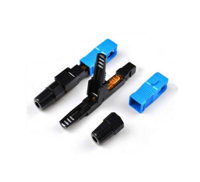 Коннектор быстрого монтажа (Fast connector) SC/UPC-FTTH-02, для плоского кабеля