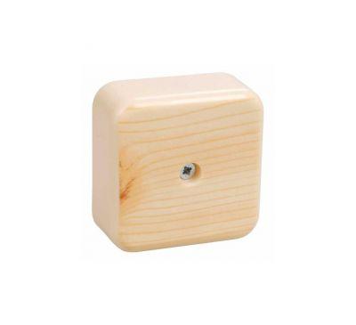 Коробка распаячная с контактной группой IEK КМ41206-04 сосна