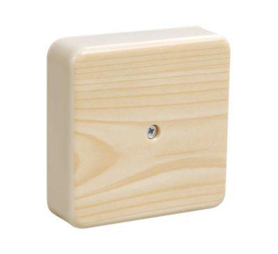 Коробка распаячная с контактной группой IEK КМ41212-04 сосна
