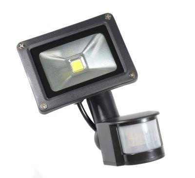 LED прожектор с датчиком движения PIR (с тревожным выходом) 10W