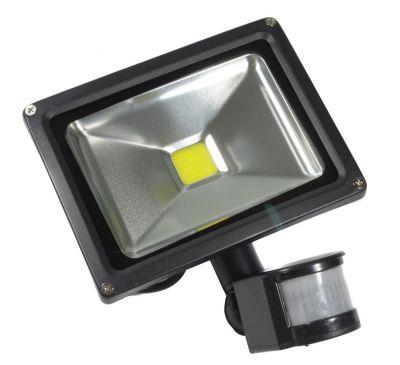 LED прожектор с датчиком движения PIR (с тревожным выходом) 20W
